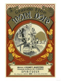 Mont Dore Wine Label - Europe Print by  Lantern Press