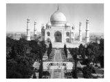 Taj Mahal in Agra, India Photograph - Agra, India Posters
