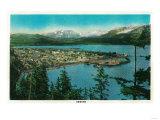 Town View of Seward, Alaska - Seward, AK Posters by  Lantern Press