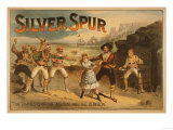 Silver Spur - Pirates Theatrical Poster Posters by  Lantern Press