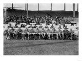 NY Giants Team, Baseball Photo No.4 - New York, NY Posters