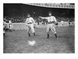 Shannon & Tommy McMillan, Brooklyn Dodgers, Baseball Photo - New York, NY Posters