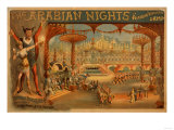 The Arabian Nights - Aladdin&#39;s Wonderful Lamp Poster Prints