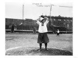 New York Female Giants, Baseball Photo No.4 - New York, NY Poster
