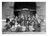 Senior Preparatory Class at Fisk University Photograph - Nashville, TN Posters