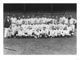 New York Yankees Team, Baseball Photo - New York, NY Print