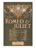 "Shakepeare's Sublime Tragedy ""Romeo & Juliet"" Poster Art by  Lantern Press"