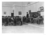 Men's Debate Class Carlisle Indian School Photograph - Carlisle, PA Posters by  Lantern Press