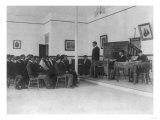 Men's Debate Class Carlisle Indian School Photograph - Carlisle, PA Posters