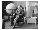 Theodore Roosevelt in Rocking Chair Photograph - Washington, DC Posters by  Lantern Press
