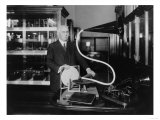 Phonograph Inventor Emile Berliner Photograph Poster by  Lantern Press
