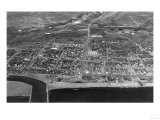 Nome, Alaska Town View from Air Photograph - Nome, AK Posters by  Lantern Press