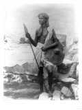 Sudan Warrior with Spear Photograph - Sudan Posters by  Lantern Press