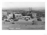View of Cameron, Arizona with Ambulance Photograph - Cameron, AZ Posters by  Lantern Press