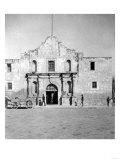 The Alamo in San Antonio, TX Photograph No.1 - San Antonio, TX Print by  Lantern Press