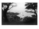 View of Monterey Bay from 17 Mile Drive - Carmel, CA Art by  Lantern Press