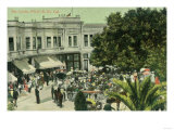 View of the Circle - Palo Alto, CA Prints by  Lantern Press