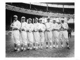 NY Giants Starters, Opening Day, Baseball Photo - New York, NY Print