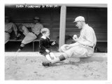 Rube Marquard &amp; Rube Jr., Brooklyn Dodgers, Baseball Photo - New York, NY Posters