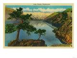 Lake Chelan, Washington - Lake Chelan, WA Art by  Lantern Press