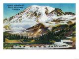 Crossing Mazama Ridge, Rainier National Park - Rainier National Park Prints