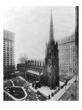 Trinity Church New York City, NY Photo - New York, NY Posters by  Lantern Press