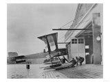 Boeing Seaplane at Lake Union Photograph - Seattle, WA Art by  Lantern Press