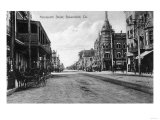 View of Nineteenth Street No. 2 - Bakersfield, CA Prints by  Lantern Press