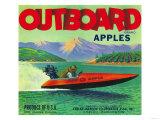 Outboard Apple Label - Chelan, WA Prints