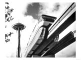 Space Needle and Monorail Photograph - Seattle, WA Prints