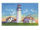 View of the Highland Lighthouse - Cape Cod, MA Prints by  Lantern Press
