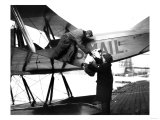 William Boeing delivering first international mail Photograph - Seattle, WA Prints by  Lantern Press
