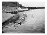 Yale University Rowing Crew Team Photograph - New Haven, CT Prints