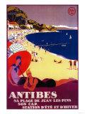 Antibes Vintage Poster - Europe Art