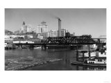 View of the Skyline - Tacoma, WA Prints by  Lantern Press