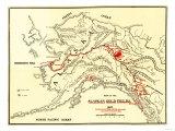 Alaska - Panoramic Map Prints