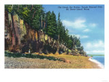 Acadia National Park, Maine - View of the Ovens at Bar Harbor Prints