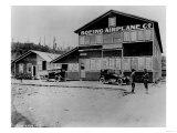 Boeing Airplane Co. Plant near Duwamish River Photograph - Seattle, WA Prints by  Lantern Press