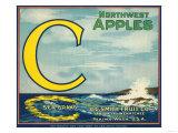 Sea Apple Label - Yakima, WA Art