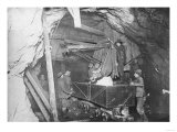 Treadwell Gold Mine 500 feet Under the Ocean in Juneau Photograph - Nome, AK Prints