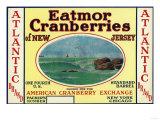 Atlantic Eatmor Cranberries Brand Label Prints