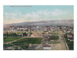 Aerial View of the City - Pocatello, ID Prints