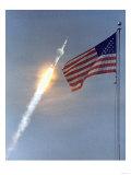 Apollo 11 Launch Photograph - Cape Canaveral, FL Prints