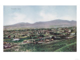 Aerial View of Town from the Hills - Pocatello, ID Prints