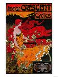 American Crescent Vintage Poster - Europe Prints