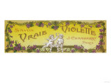 Vraie Violette Soap Label - Paris, France Prints by  Lantern Press