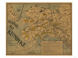 Alaska - Klondyke Board Game, Panoramic Map Prints