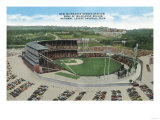 Aerial View of New Milwaukee County Stadium - Milwaukee, WI Prints
