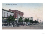 View of Main Street - Scott City, KS Prints by  Lantern Press