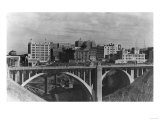 View of the Spokane Skyline - Spokane, WA Prints